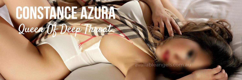 Sydney sexy Eurasian brunette curvy woman white bikini