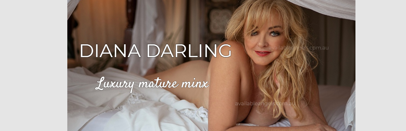 Diana Darling | Luxury Mature Brisbane Escort White Bed