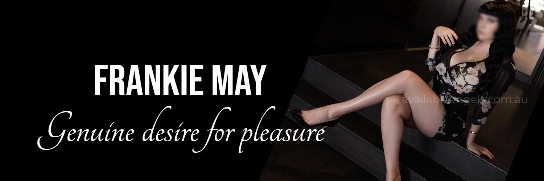 melbourne escort brunette in lingerie black high heels