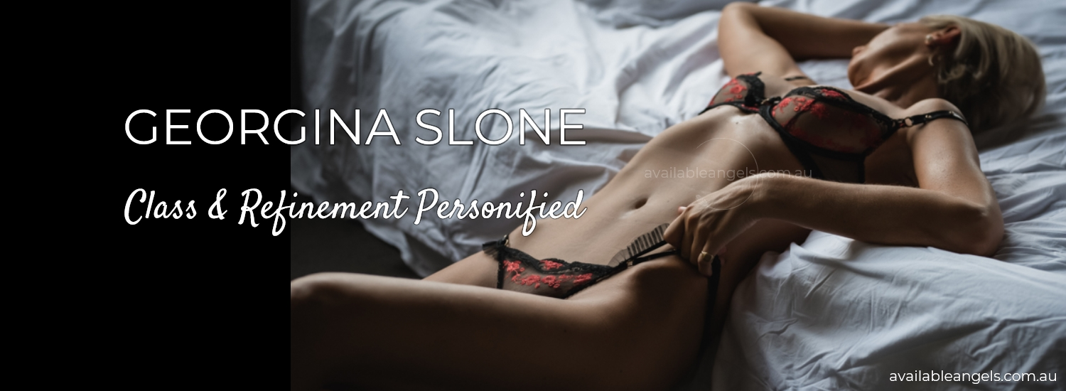 Georgina Slone Manly Escort banner