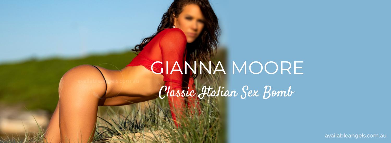 Gianna Moore | Sydney Escort Banner