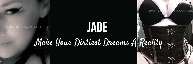 Jade adelaide escort sexy bbw black lingerie corset