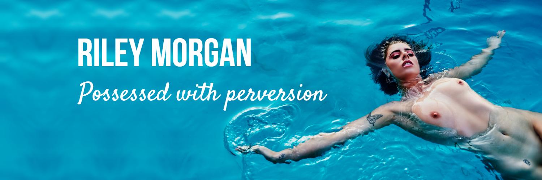 Perth Escort banner riley morgan naked pool